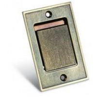 Пневморозетка S-klasse напольная метал бронза
