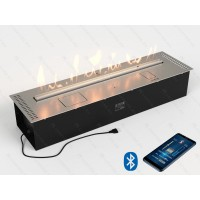 Lux Fire Автоматический биокамин Good Fire 1000 RC INOX